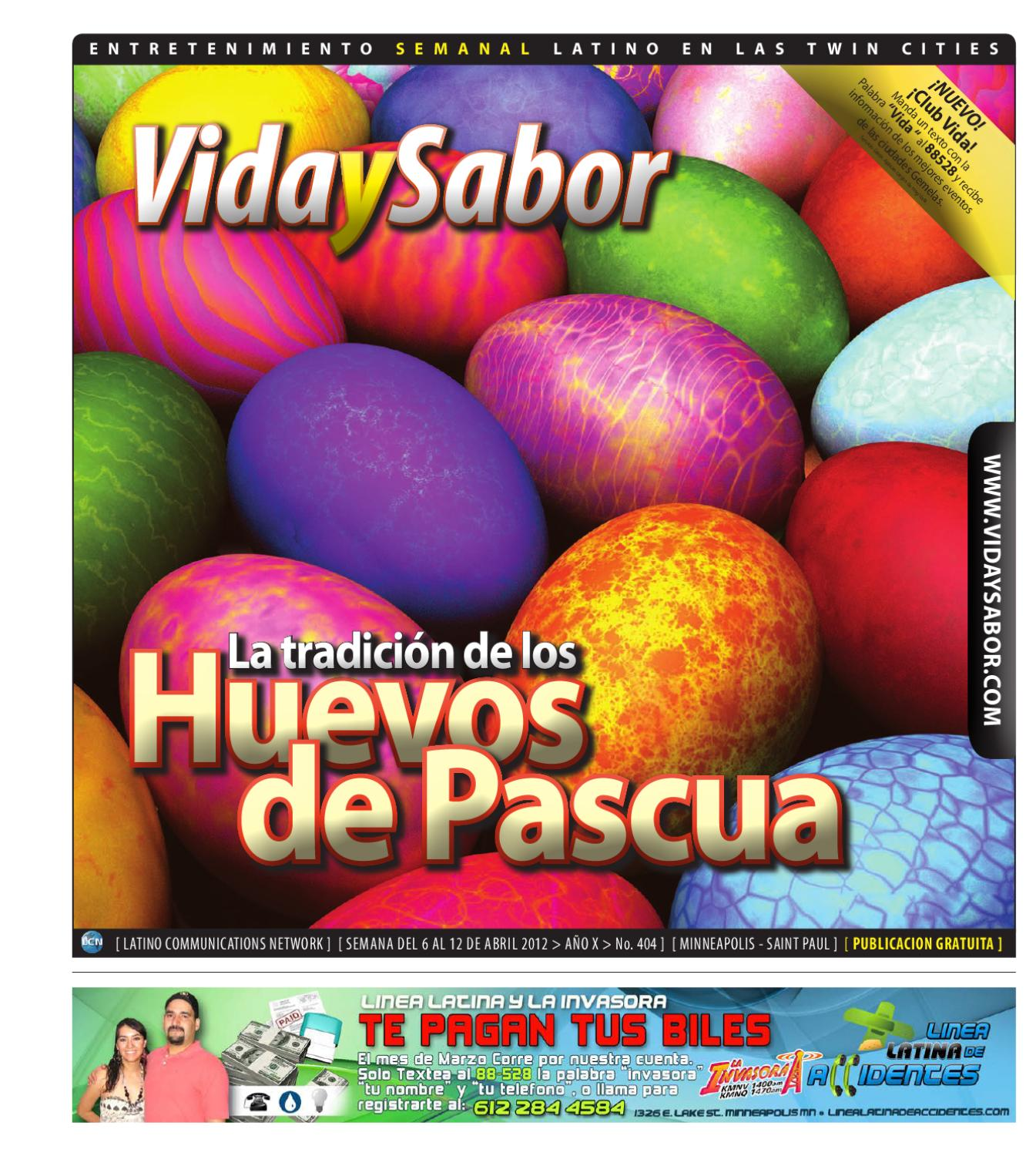 Vida y Sabor - 404 by Latino Communications Network LLC - issuu