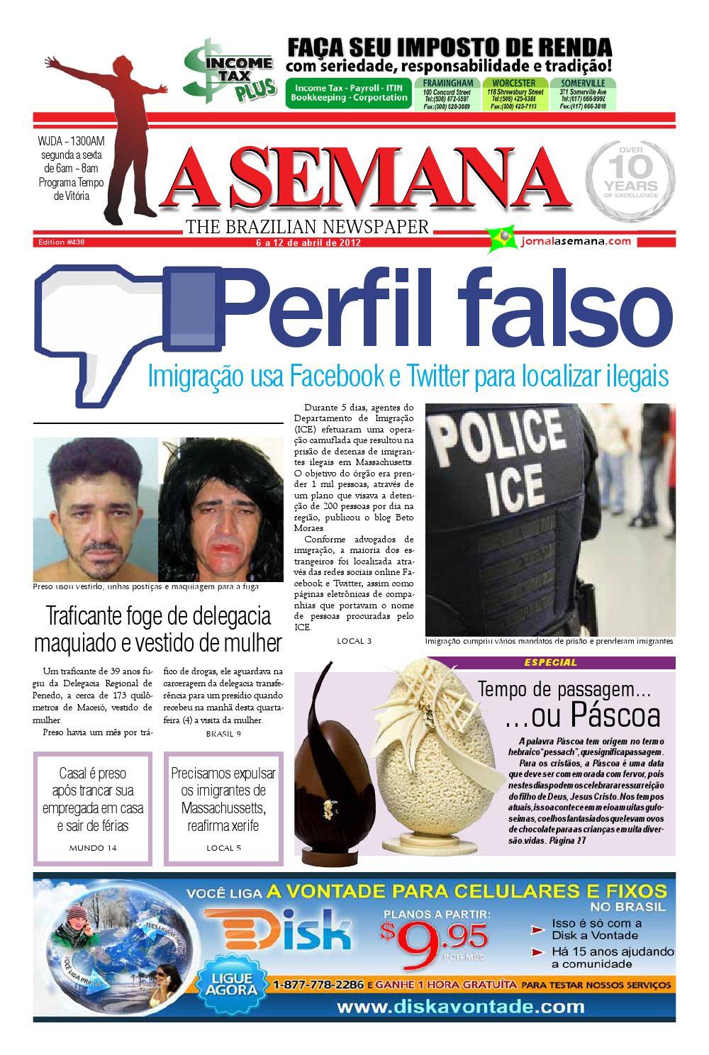 cdefe144c A SEMANA - The Brazilian Newspaper by JORNAL A SEMANA - issuu