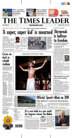 Times Leader 04-07-2012 by The Wilkes-Barre Publishing Company - issuu 95abbf8be8dc