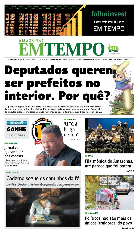 EM TEMPO - 8 de abril de 2012 by Amazonas Em Tempo - issuu 721f0d30a3201