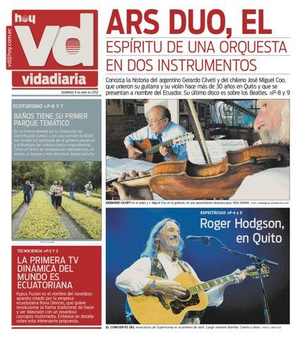 Hoy vida diaria 2012 abril 08 by hoy noticias del for Noticias del mundo del espectaculo hoy