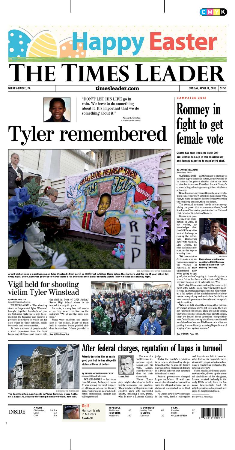 Times Leader 04 08 2012 By The Wilkes Barre Publishing Pany Issuu