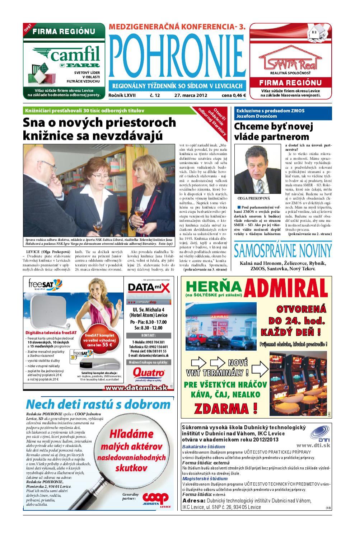0621b568198e4 Pohronie 12 2012 by Pohronie Levice - issuu