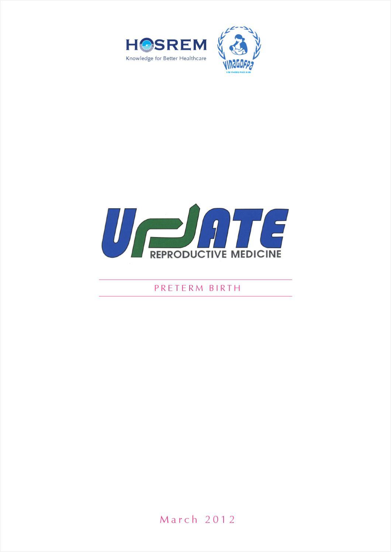 UpdATE Mar 2012 (Preterm birth) by HOSREM HOSREM - issuu