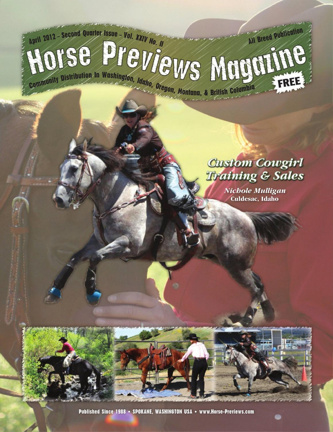 Horse Previews - April 2012 by Exchange Publishing - issuu
