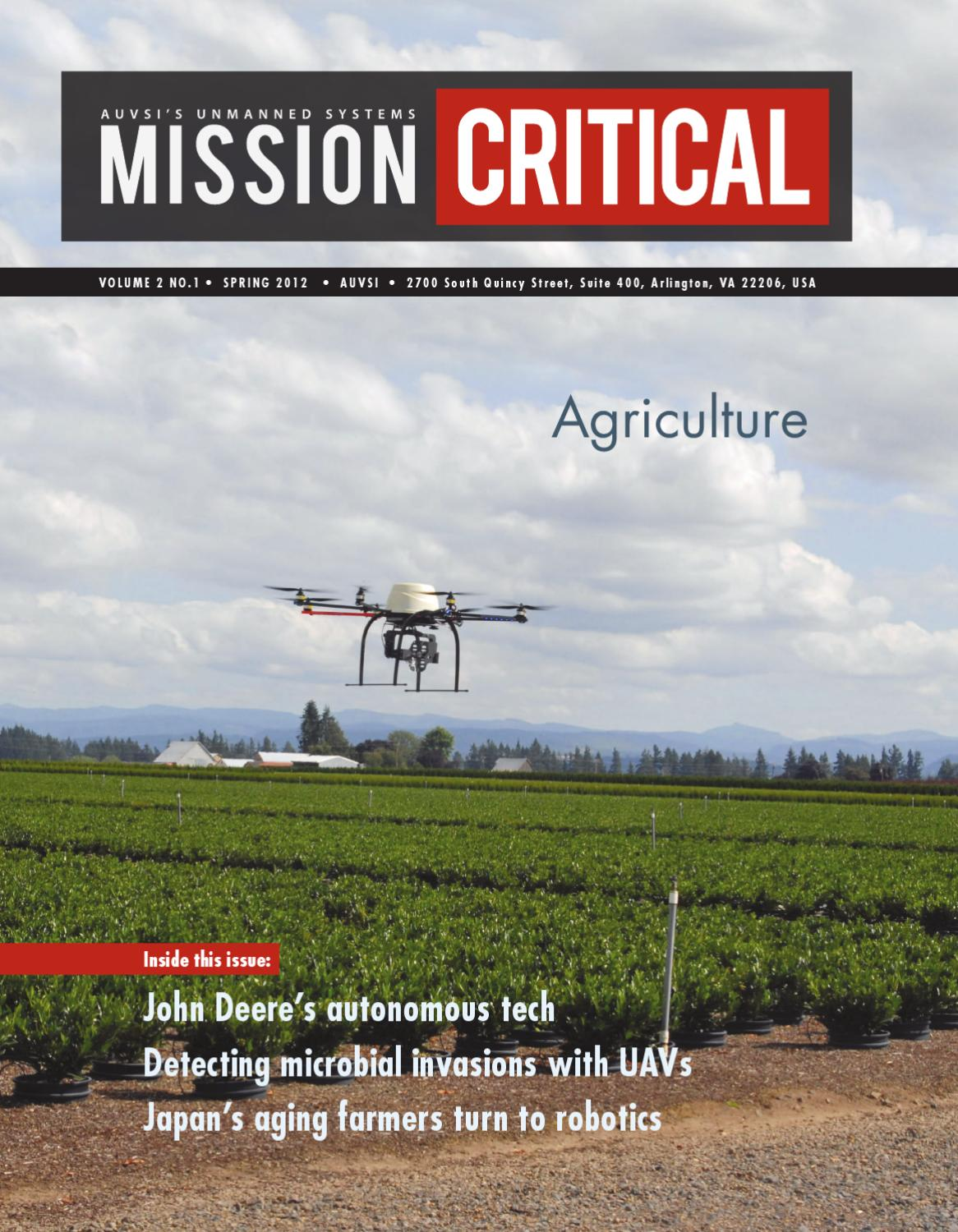 Mission Critical Agriculture Spring Edition By Association For Mark Iii Western Snow Plow Wiring Unmanned Vehicle Systems Intl Issuu