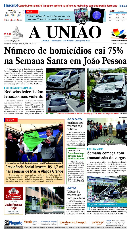 f9d0bb8062a Jornal A UNIÃO by Jornal A União - issuu