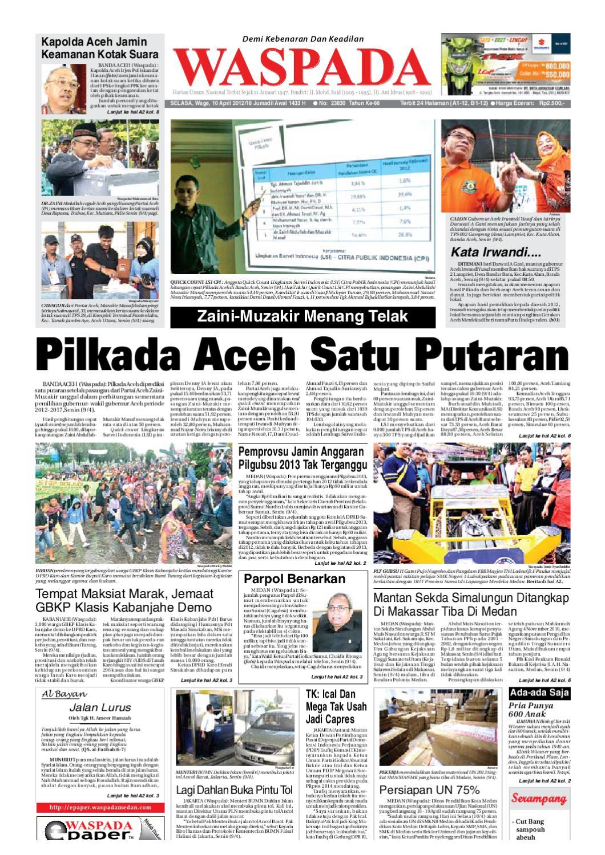 Waspada Selasa 10 April 2012 By Harian Issuu Mesin Untuk Membungkus Makanan Hand Wrapping Sat Hw450starpack