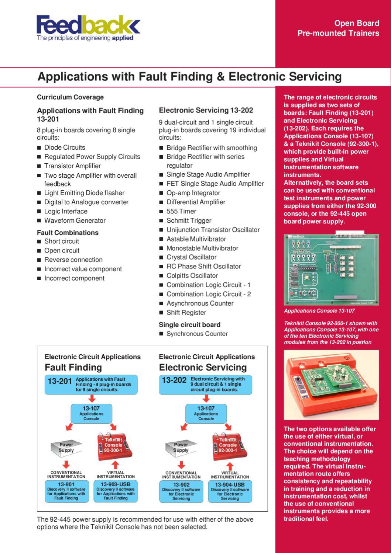 Catlogo Electricidad Y Electrnica De Feedback By Iberdidac Issuu Amp Multivibrator Oscillator Operational Amplifier Astable Circuit