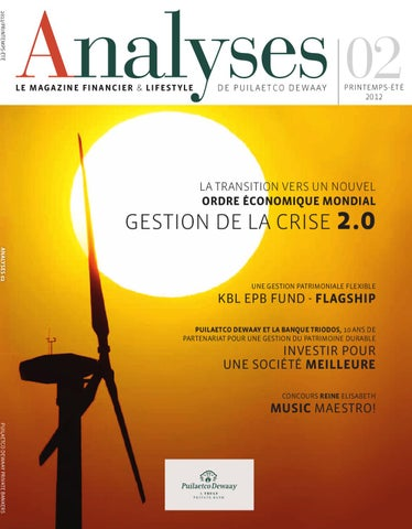 Analyses 02 FR by Puilaetco Dewaay Private Bankers - issuu c6af7bdc1266