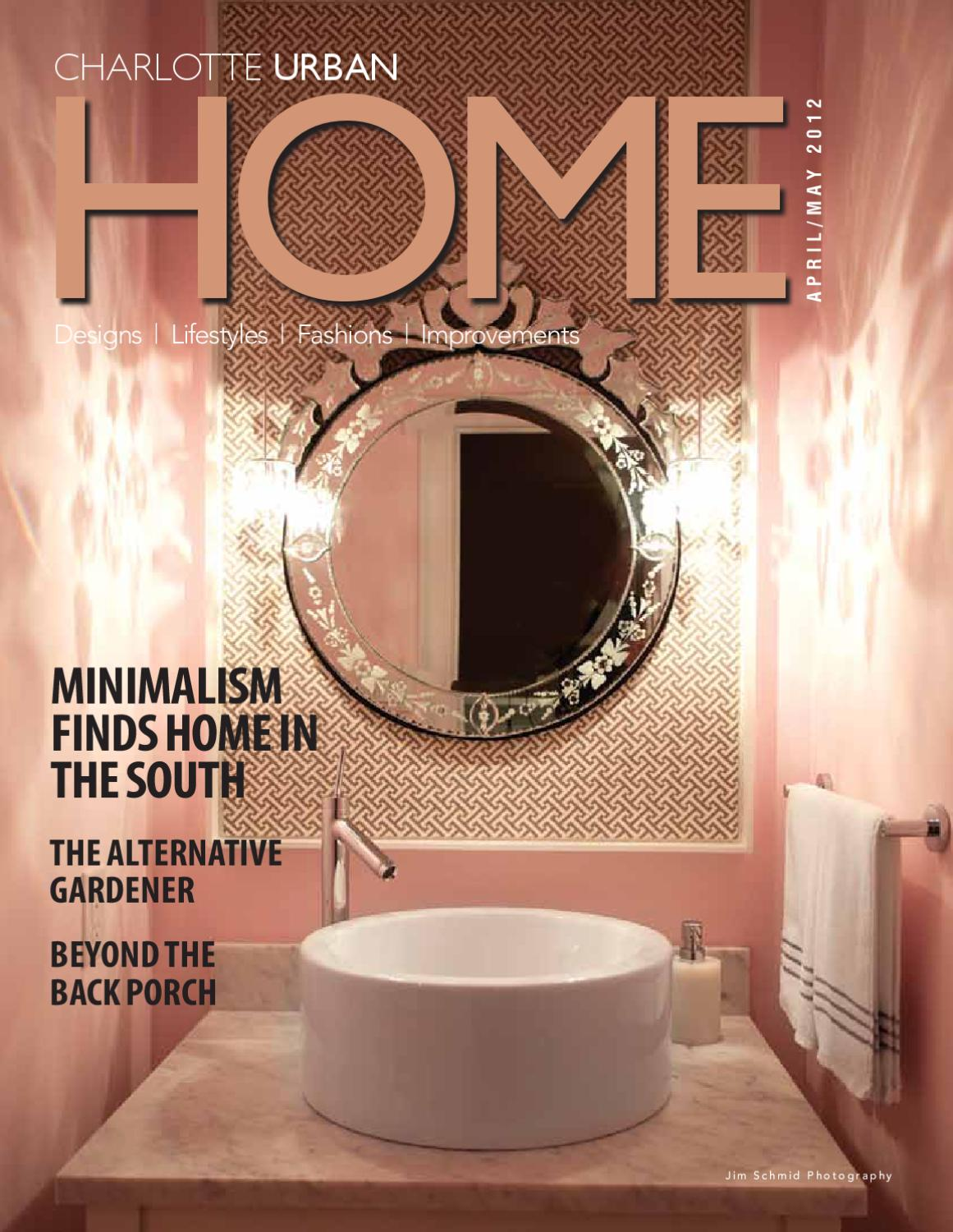 Urban Home Magazine April May 2012 By Design Decor