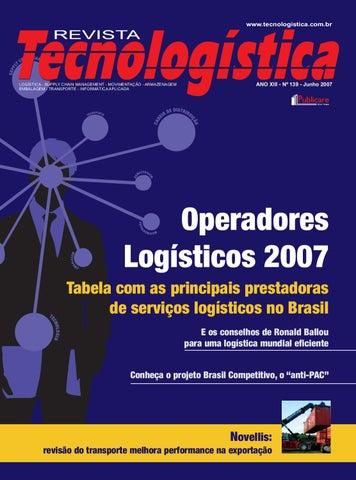 Revista Tecnologística - 139 - 2007 by Publicare - issuu e0bbe3e727