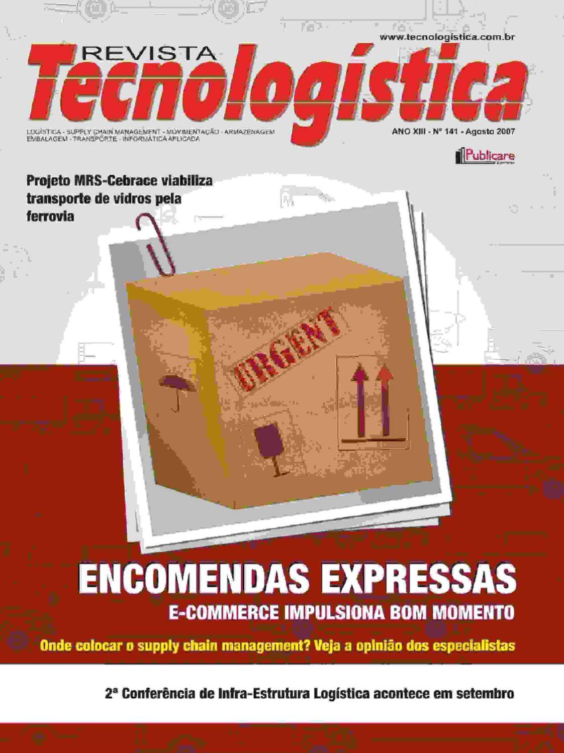 fcab53805d Revista Tecnologística - Ed. 141 - 2007 by Publicare - issuu