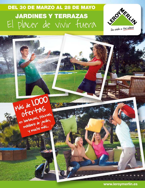Catálogo Leroy Merlin Muebles De Jardin Y Terraza 2012 By