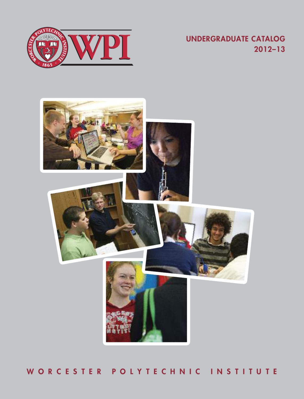 Wpi 2022 Calendar.Wpi Undergraduate Catalog 2012 13 By Worcester Polytechnic Institute Issuu