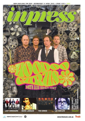 Inpress Issue  1219 by TheMusic.com.au - issuu c84f5dfb75
