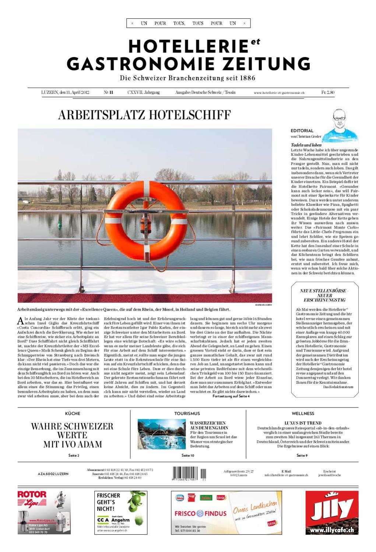 HeG Zeitung 11/2012 By Hotellerie_Gastronomie_Verlag   Issuu