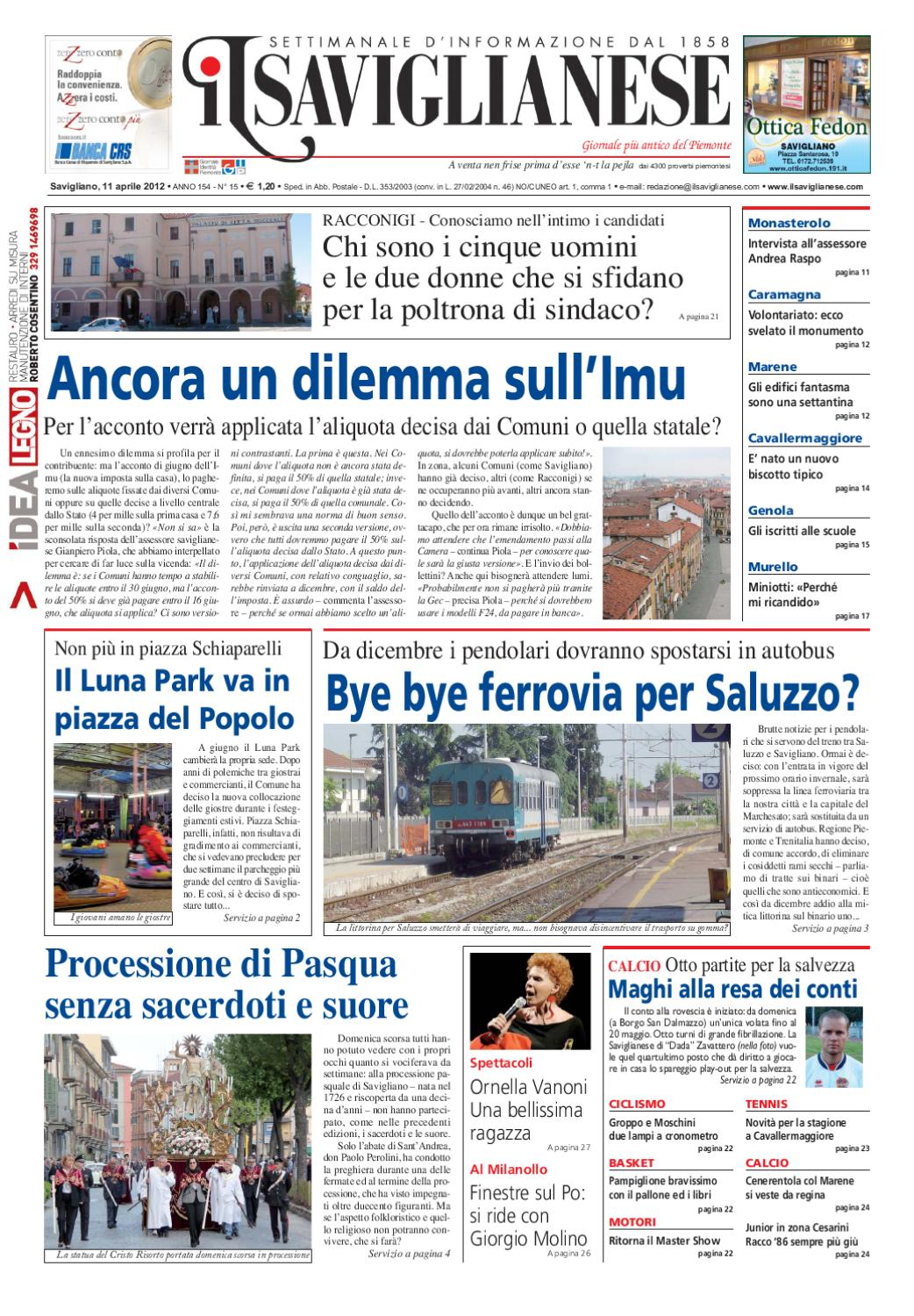 11-4-2012 by Valerio Maccagno - issuu 70b135af725e