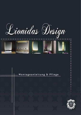 Lionidas Design Montageanleitung Und Pflege By Lionidas Gmbh Issuu