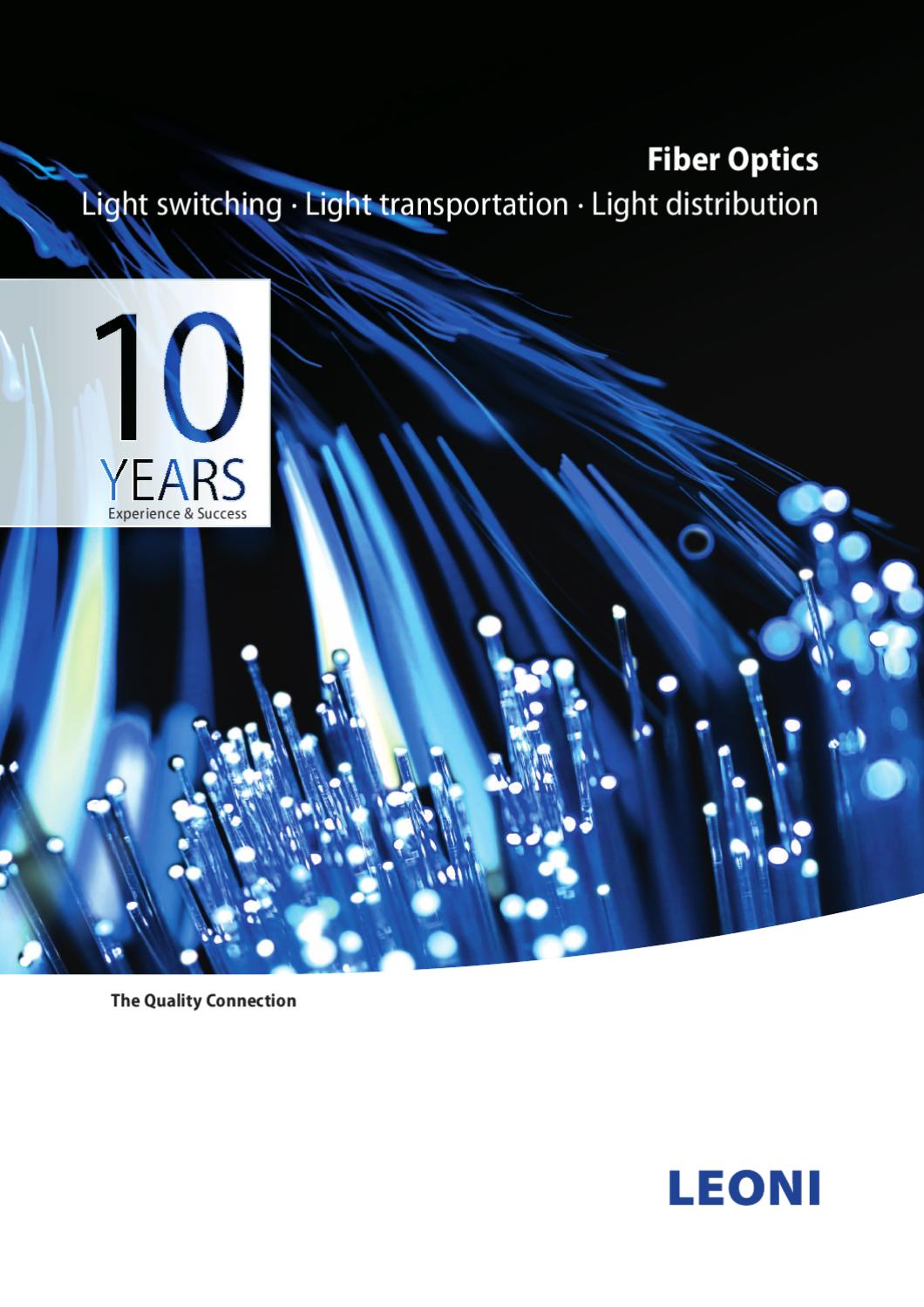 Fiber Optics By Felten Wire Cable Solutions Bv Issuu Optic Cablethe Global Solution In Components