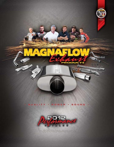 "Stainless Steel Magnaflow 14770 Performance Muffler 14/"" Body 7/"" Round"