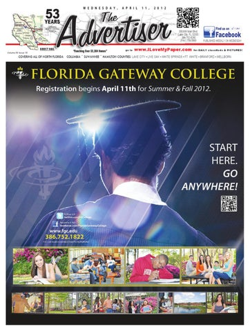 b00fec966a3dd 04-11-12 Advertiser Web by North Central Florida Advertiser - issuu