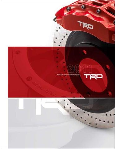 For Toyota 4Runner 03-09 V6 V8 Aftermarket Front Disc Brake Pads Rotors Kit