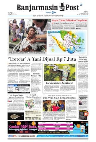 Banjarmasin Post edisi cetak Kamis 12 April 2012 by Banjarmasin Post ... d79f318209