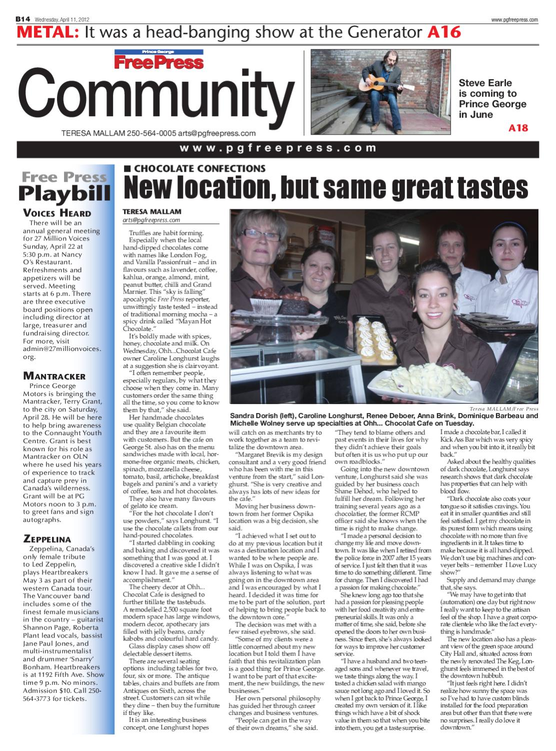 April 11, 2012 by Prince George Free Press - issuu