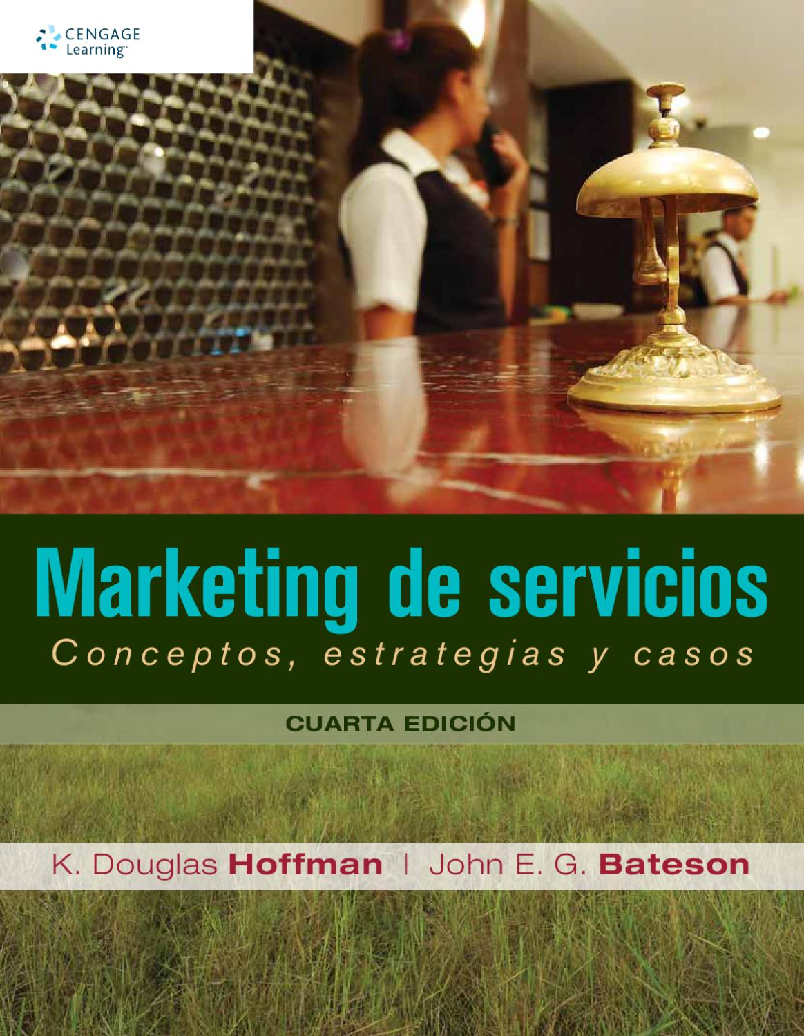 9786074816334 marketing de servicios conceptos estrategias y casos 4a ed hoffman cengage by cengage learning editores issuu