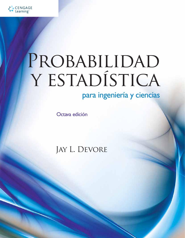 9786074816198 Probabilidad y estadística para ingeniería y ...