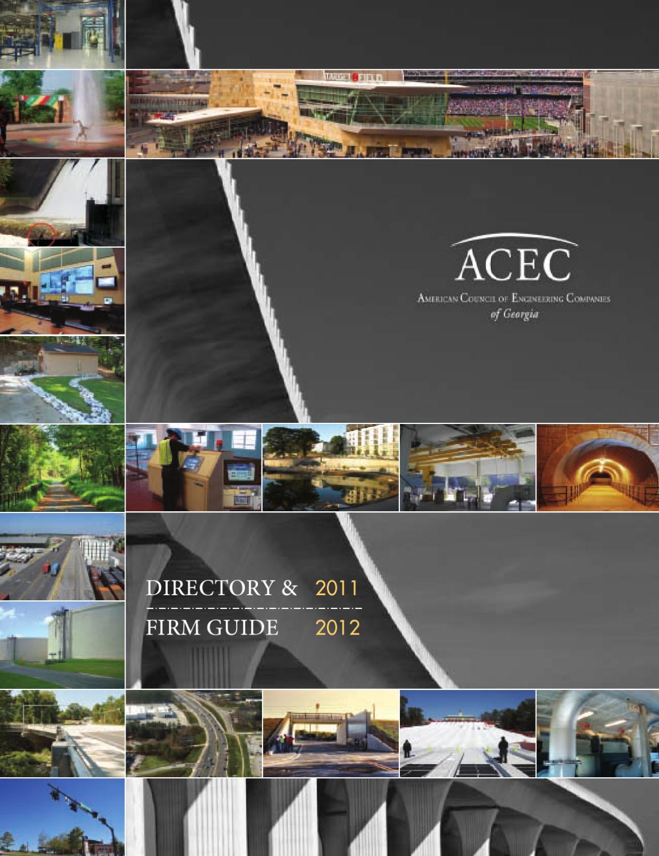 2011 ACEC Directory by Luke Clark - issuu