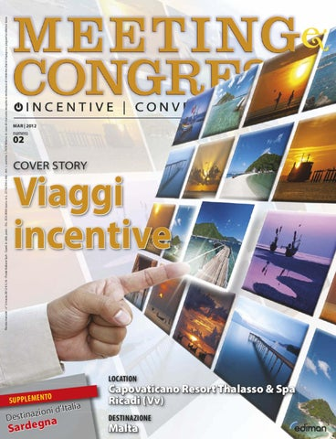 Meeting e Congressi - Mar 2012 by Ediman - issuu 345d749e887