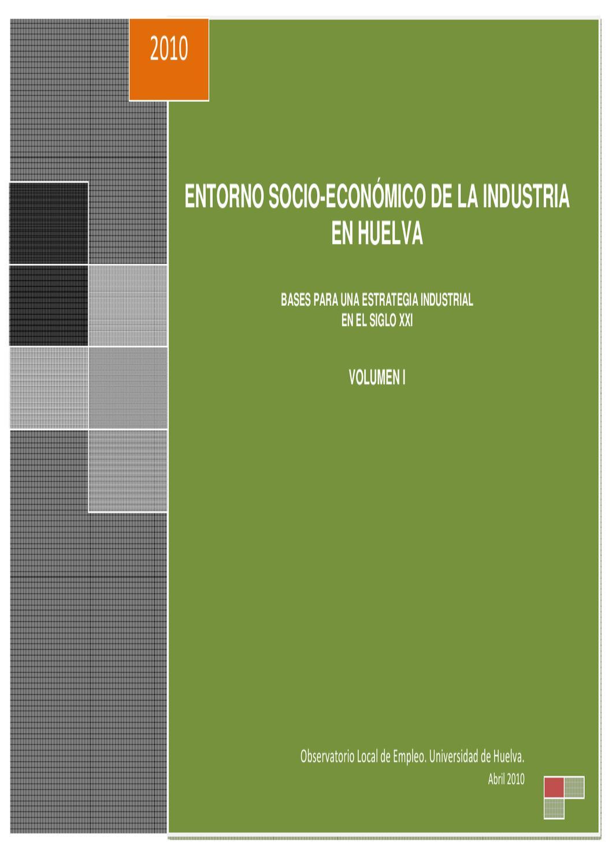 Entorno Socio Econ Mico De La Industria En Huelva Libro Blanco  # Muebles Borrero Alosno