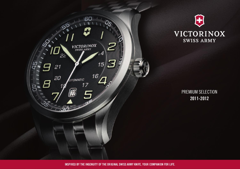 599ce9b6d19 Victorinox Catalog 2011-2012 PO by Victorinox Swiss Army Watch SA - issuu