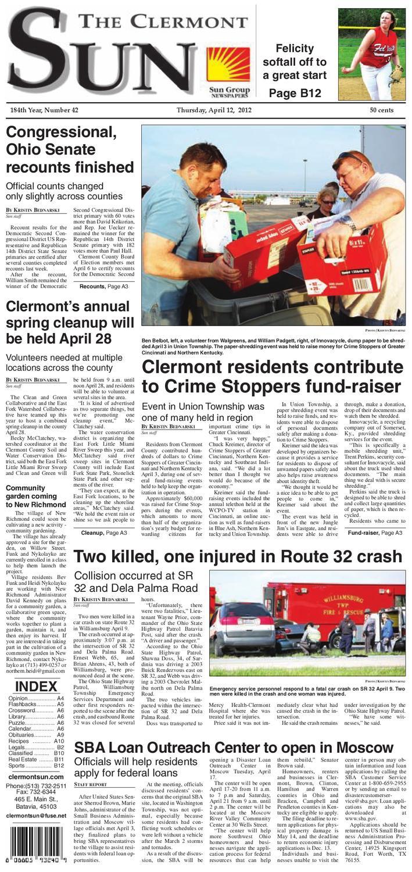 Clermont Sun, April 12, 2012 by Clermont Sun Publishing