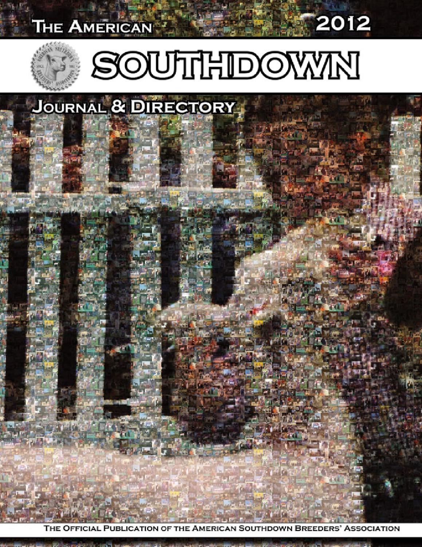 2012 American Southdown Journal & Directory by Lisa Scramlin