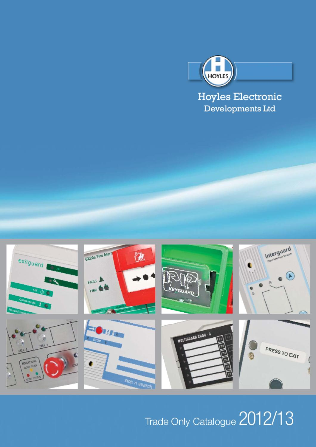 Hoyles Electronic Developments 2012 Trade Catalogue By 12v Piezo Siren Circuit Ear Piercing Sound Ltd Issuu