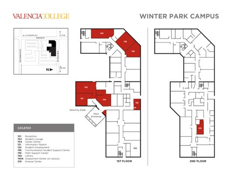 Valencia College East Campus Map World Map Atlas