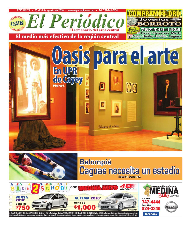 Edici_n_78_ _25_al_31_agosto_2010 By El Nuevo Periodico De Caguas  # Muebles Modernos Diga Center