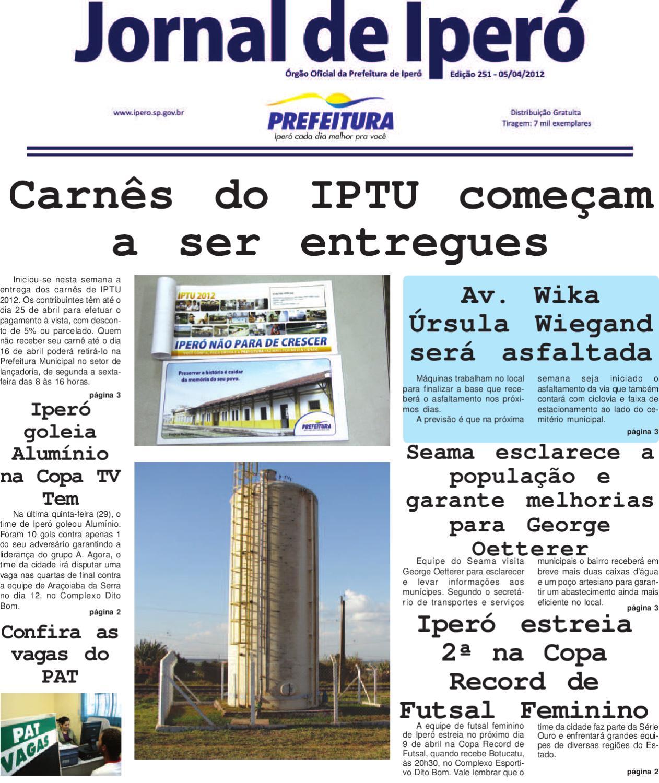 Jornal Ipero by Departamento de Comunicação de Iperó - issuu 1d27d7656ac53
