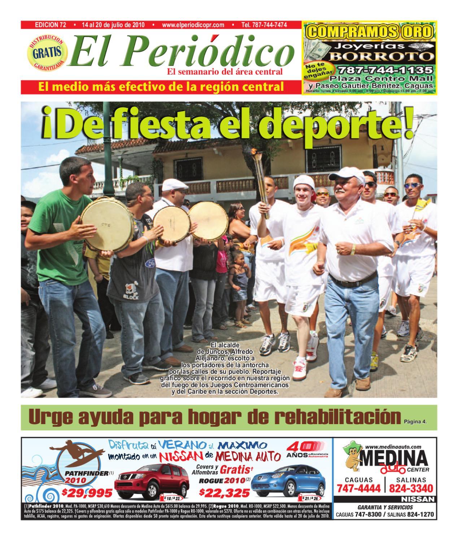 Edici_n_72_ _14_al_20_de_julio_de_2010 By El Nuevo Periodico De  # Limpio Muebles Caguas