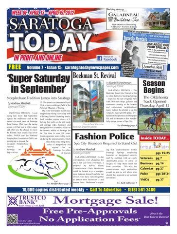 Saratoga Today 4-13 by Saratoga TODAY - issuu