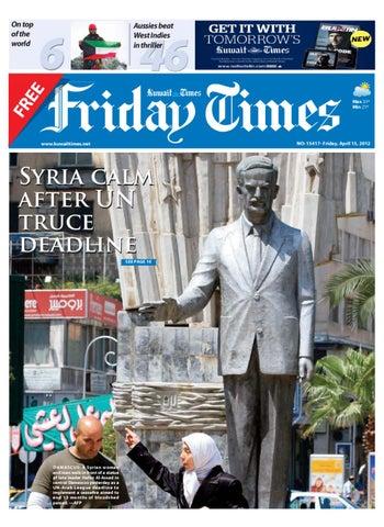 b0863c8f78a 13 Apr 2012 by Kuwait Times - issuu