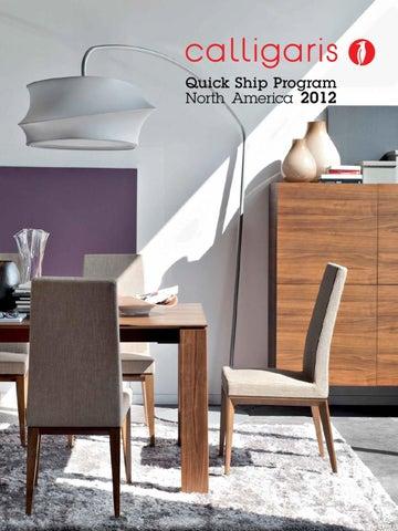 Calligaris Quick Ship Products. 2018 Winston Furniture Core Catalog