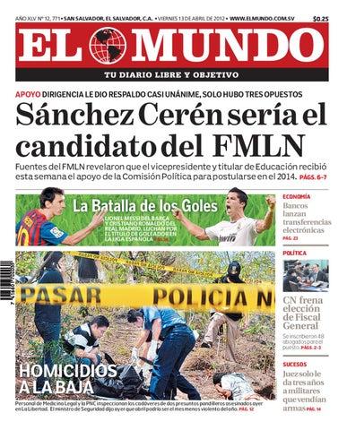 Edición Digital 130412 by Diario El Mundo - issuu 6963df505ec4e