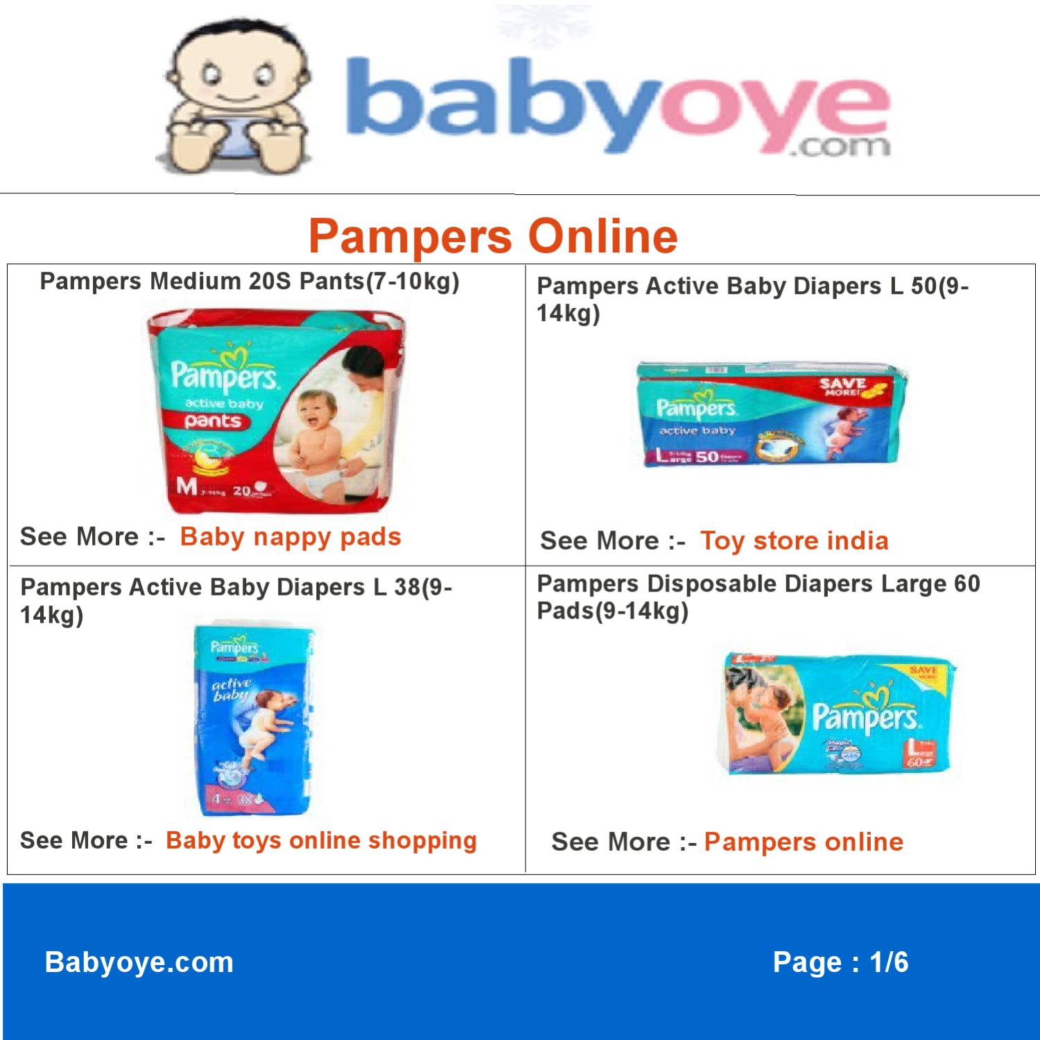 Pampers Online By Babyoye Team Issuu Mamypoko Diapers L20