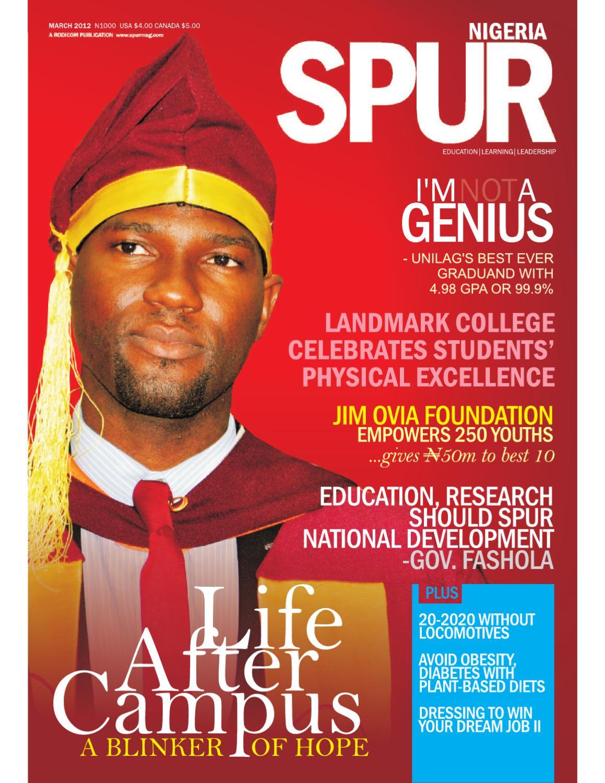 Spur Magazine Nigeria March 2012 Edition by Nigeria Spur Magazine