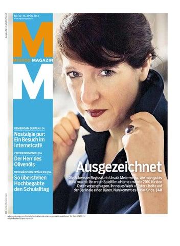 Migros Magazin 16 2012 D ZH