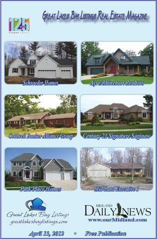 Great Lakes Bay Listings Real Estate Magazine 413 By Midland Daily